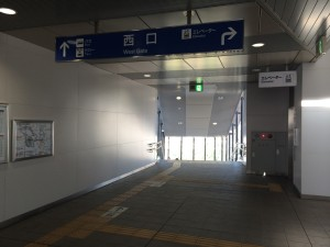 JR桂川駅西口