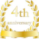 祝4周年!